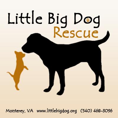 Little Big Dog Rescue Logo